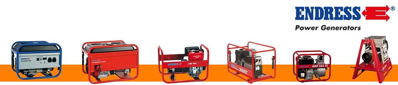 Generatoare de curent si motopompe Endress
